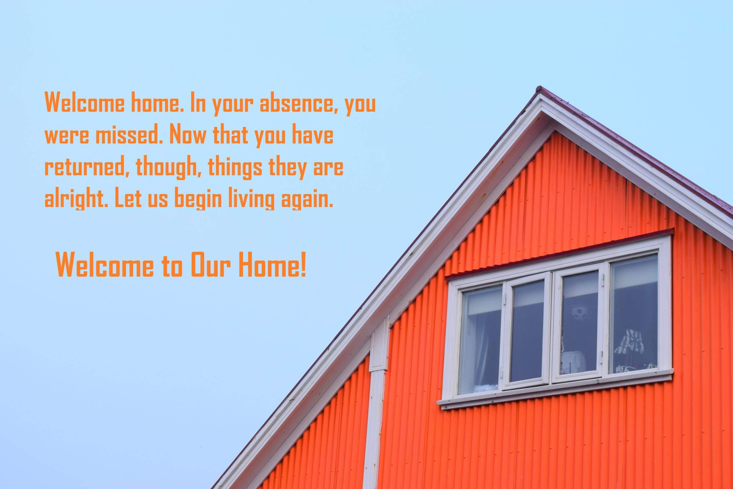 Welcome to Our Home Quotes