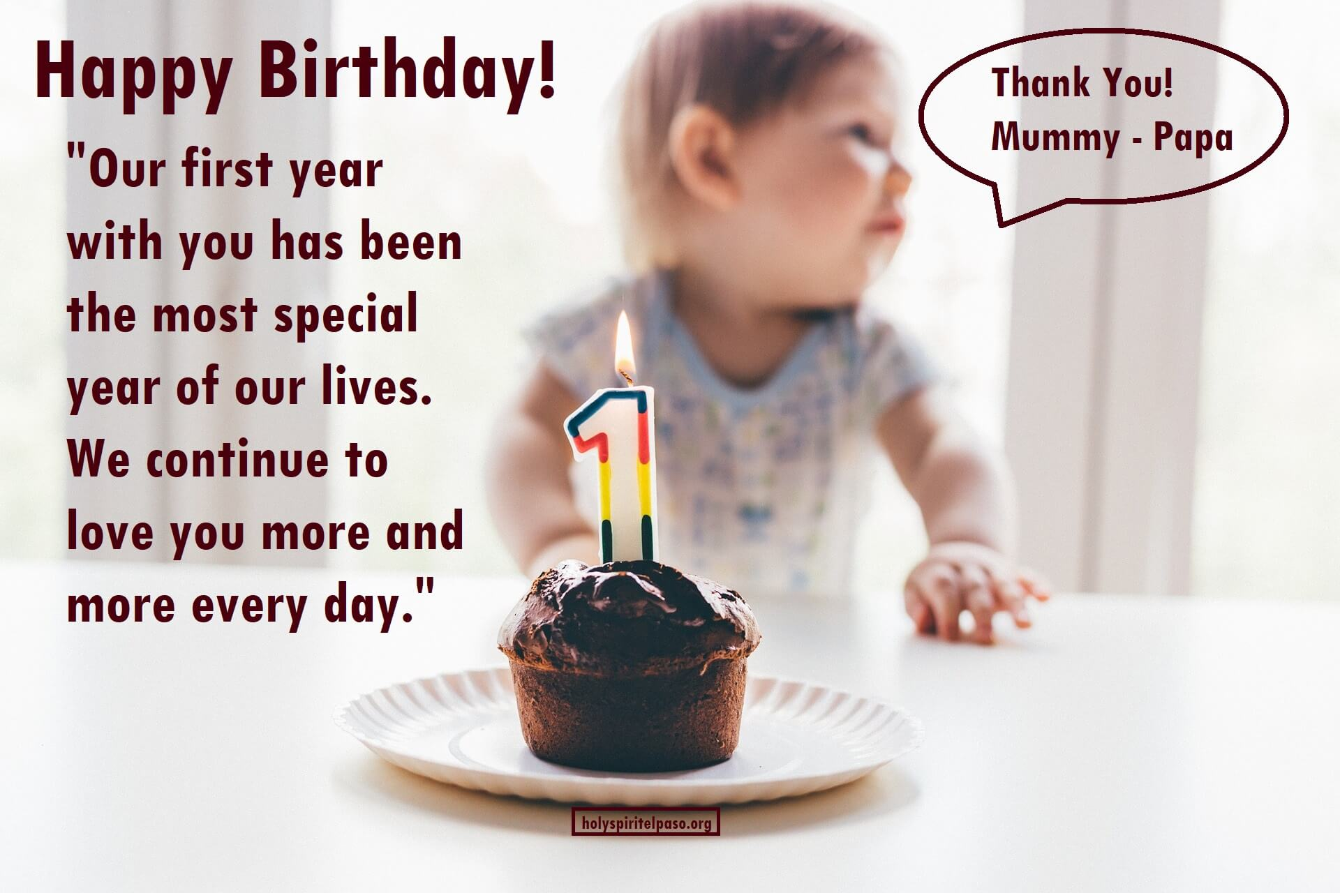 1st Birthday Wishes and Messages