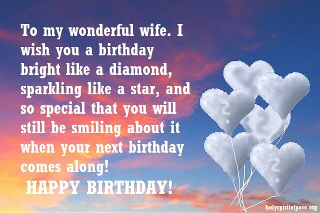 Christian Birthday Wishes For Wife