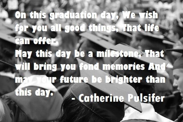 Congratulations Graduation Quotes
