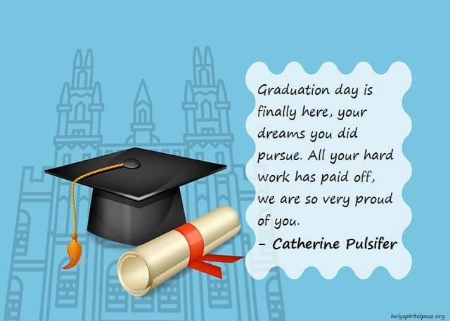 Congratulations Quotes on Graduation