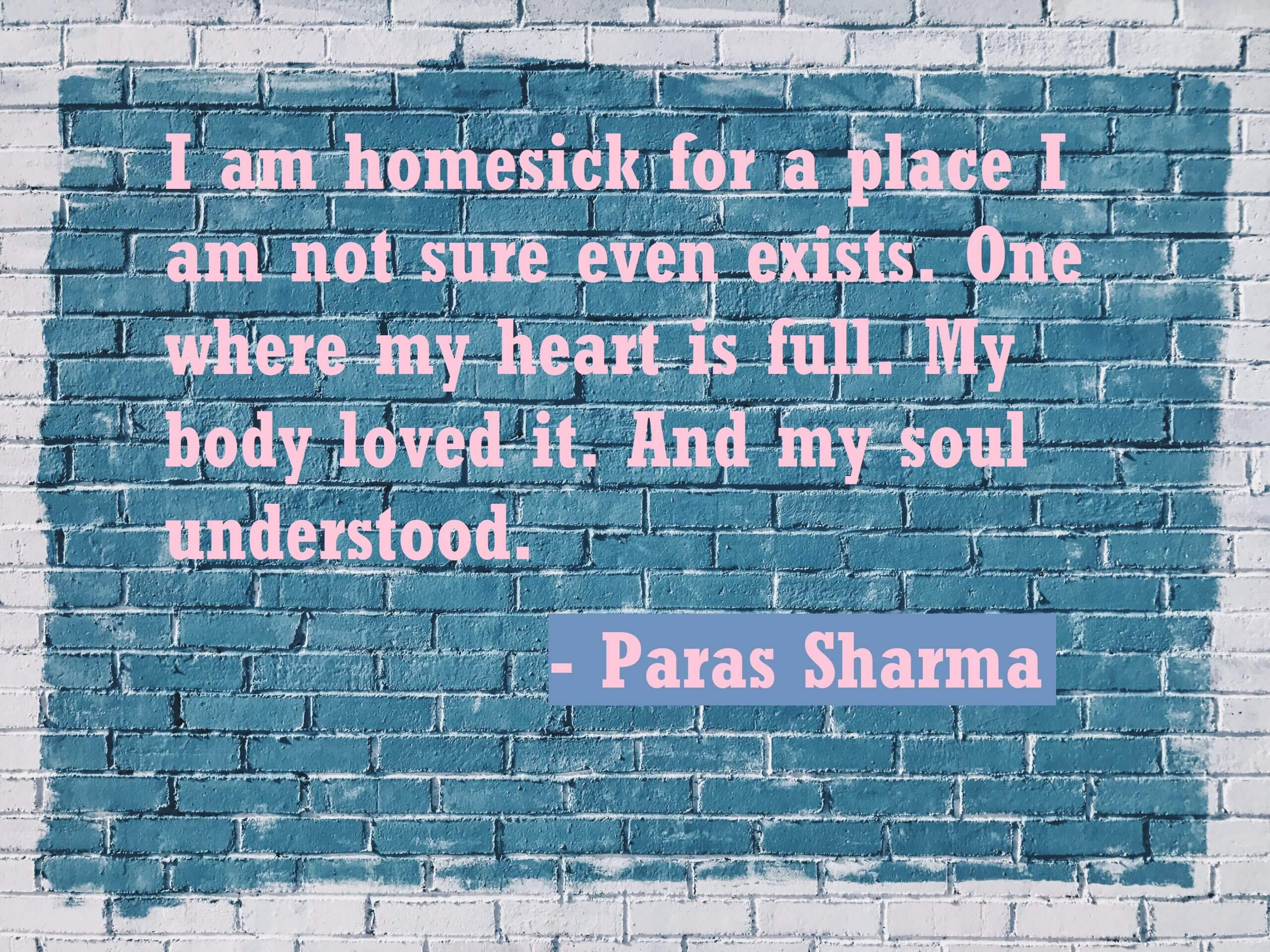 Homesickness Quotes