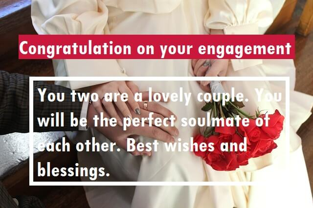 Congratulation Quotes For Engaged Couples