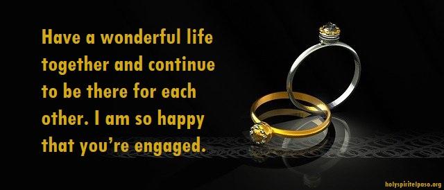 Engagement Congratulations Messages