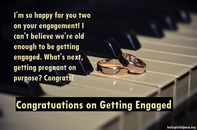 Engagement Congratulations Wishes