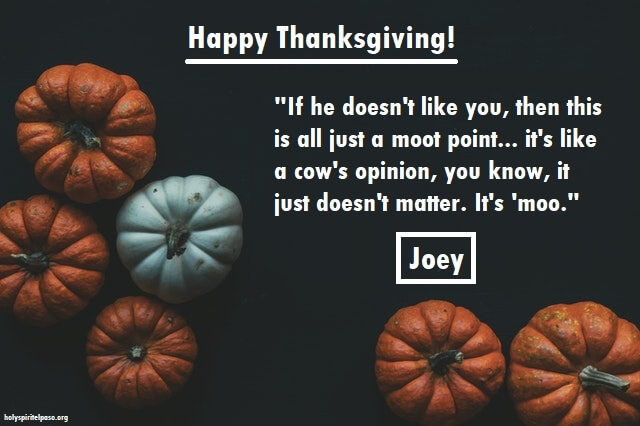Friends Thanksgiving Quotes