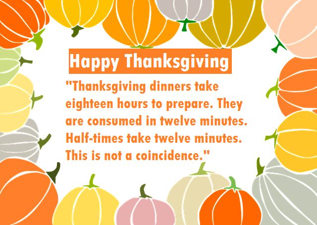 Funny Thanksgiving Quotes - Short and Hilarious Messages for a Smile