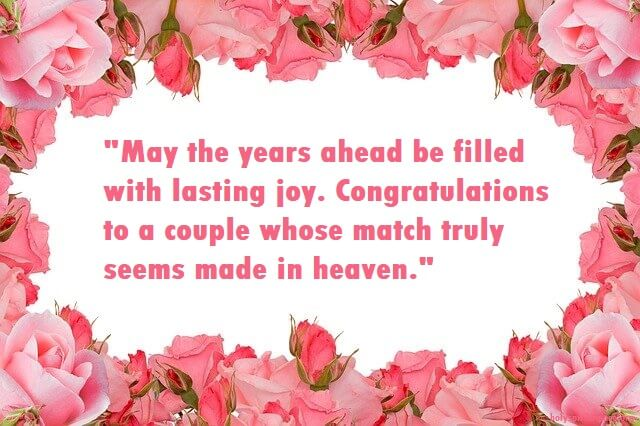 Wedding Congratulations Quotes Congratulations On Your Marriage