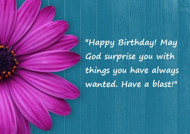Birthday Thank You Quotes For God
