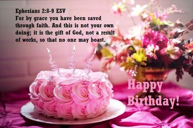 Happy Birthday Bible Verses