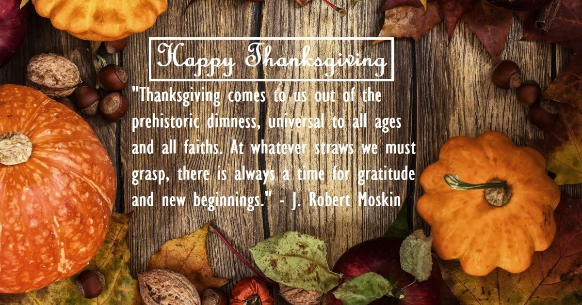 thanksgiving thankful quotes