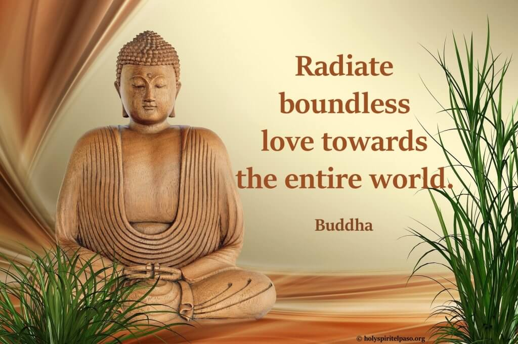 Buddha Quotes On Love With Full HD Buddha Wallpaper