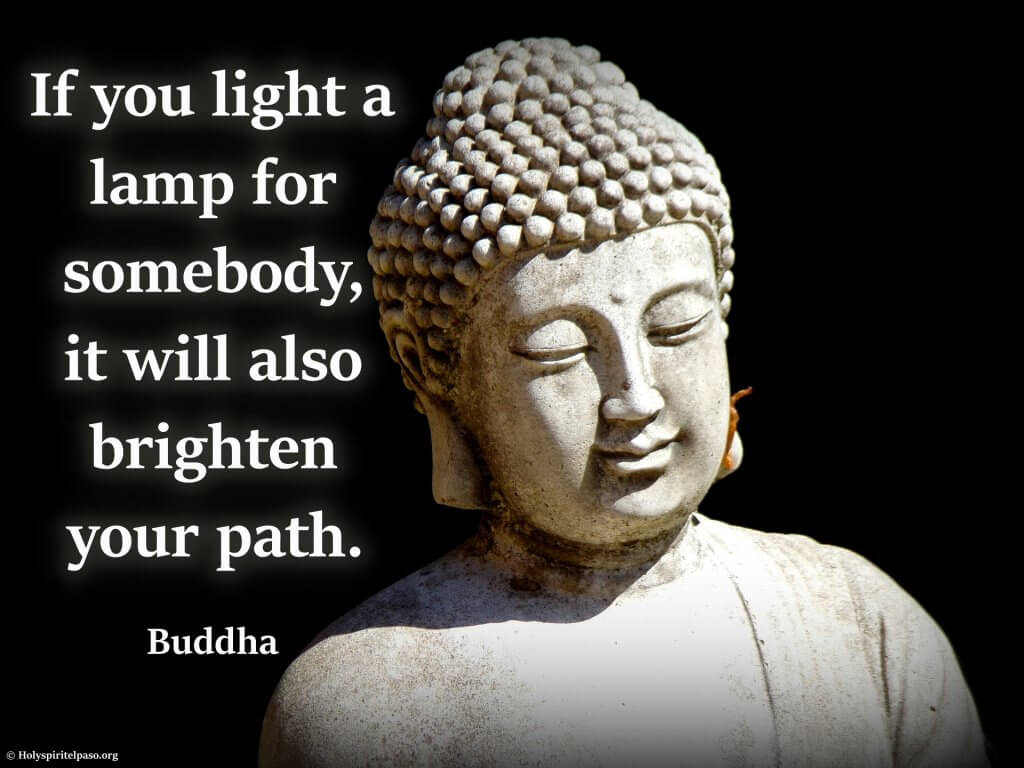 Buddha Quotes On Self Love With Peaceful Picture of Buddha
