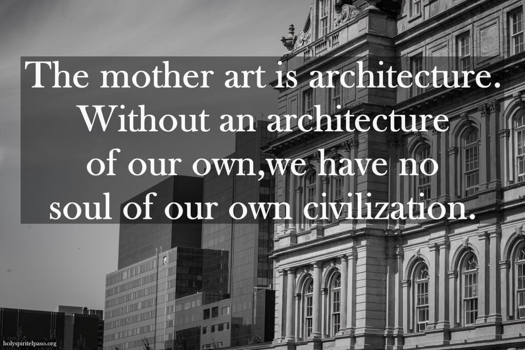 Architecture And Nature Quotes With HD Image