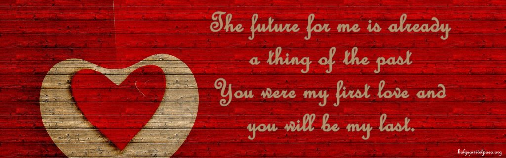 First Love Quotes With Full HD Wallpaper