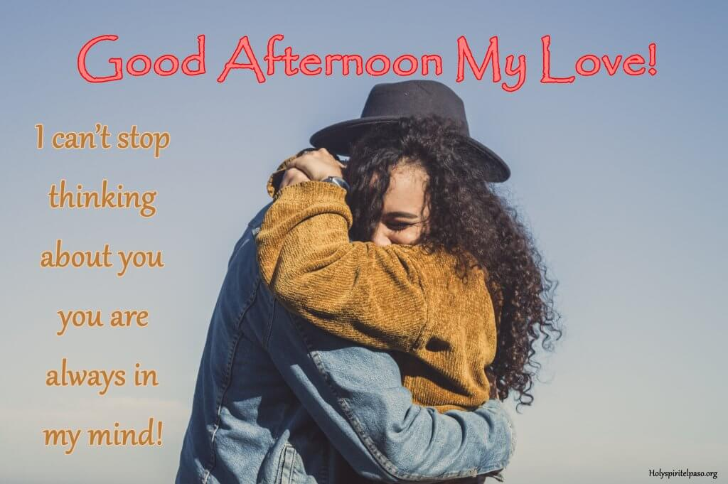 Good Afternoon My Lover Quotes With Full HD Picture
