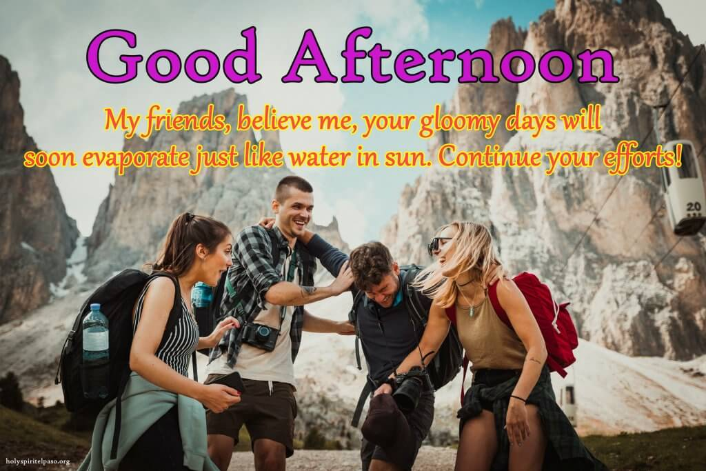 Good Afternoon Quotes For Friends With Full HD Image