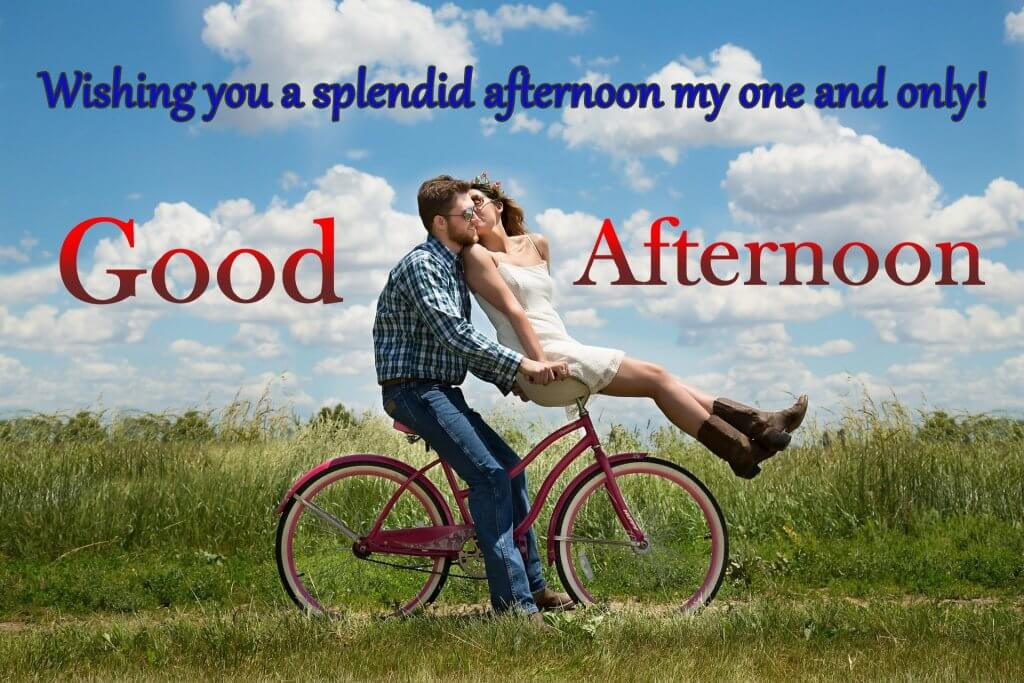 Happy Good Afternoon Quotes With Full HD Couple Picture