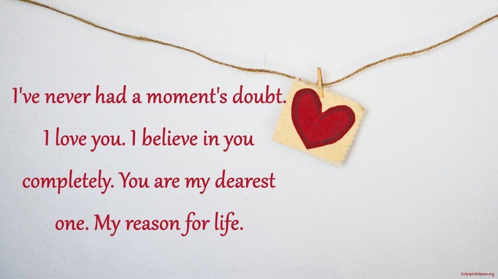 I Love You For The First Time Quotes With Heart Image