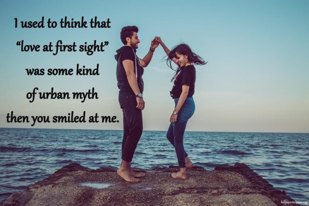 Love At First Sight Quotes For Him With Full HD Picture