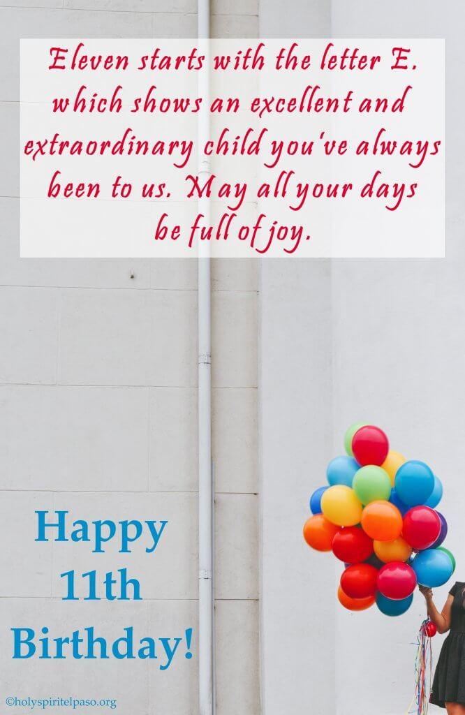 11th Birthday Quotes