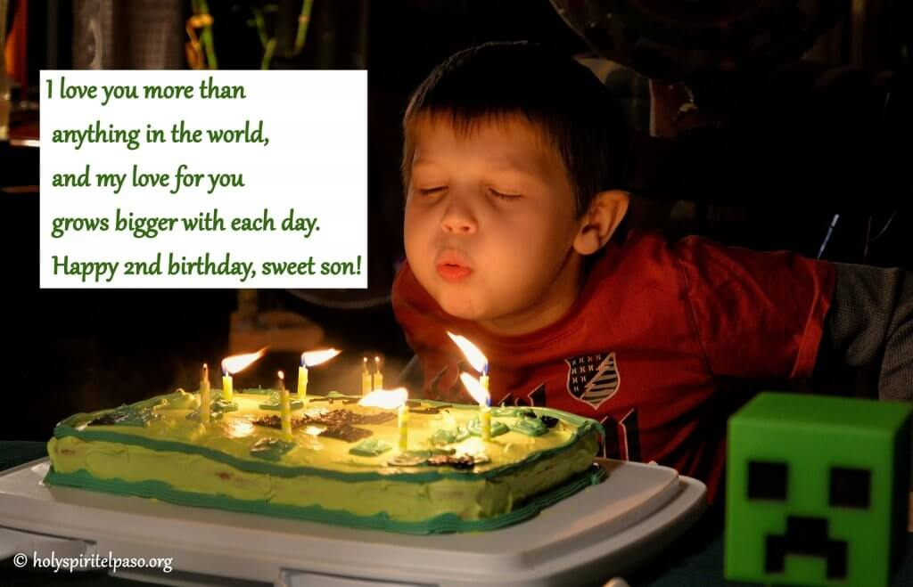 2nd Birthday Boy Quotes