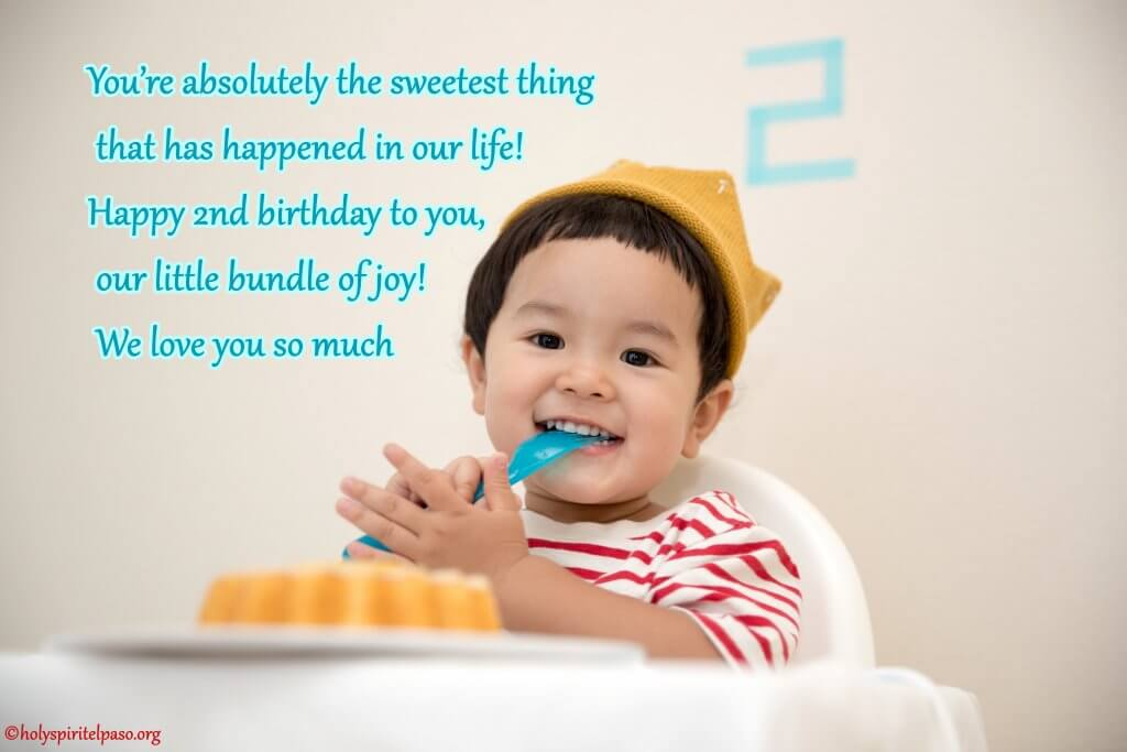 2nd Birthday Quotes