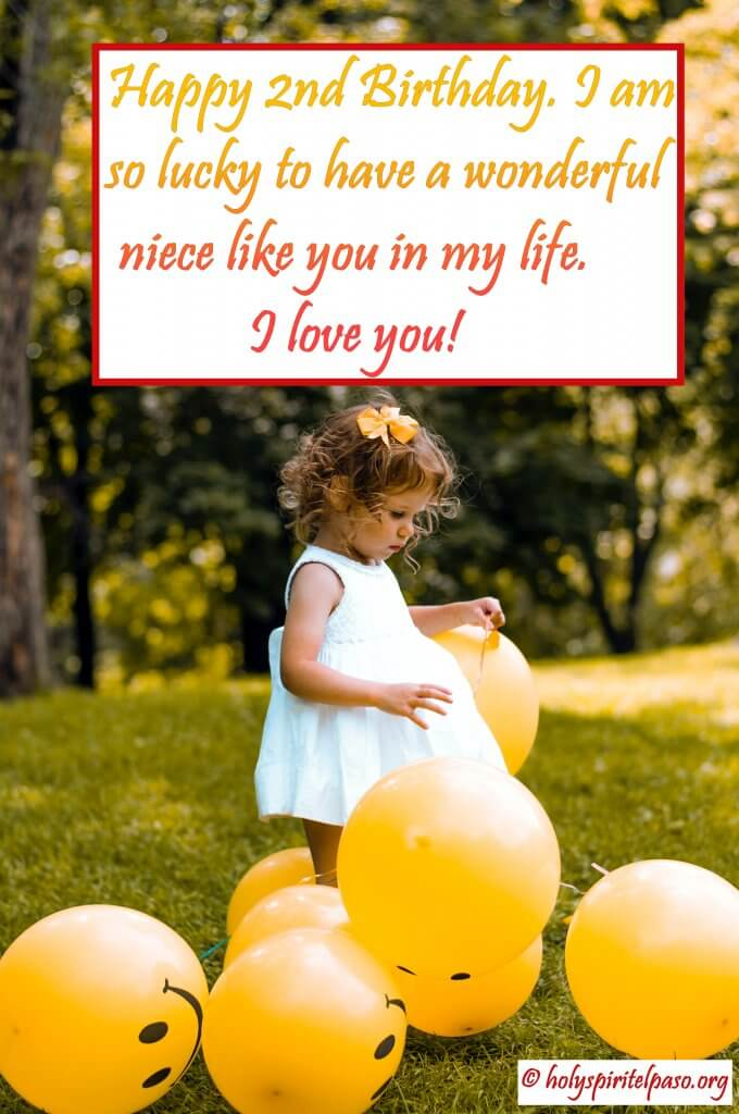 2nd Birthday Quotes For Niece