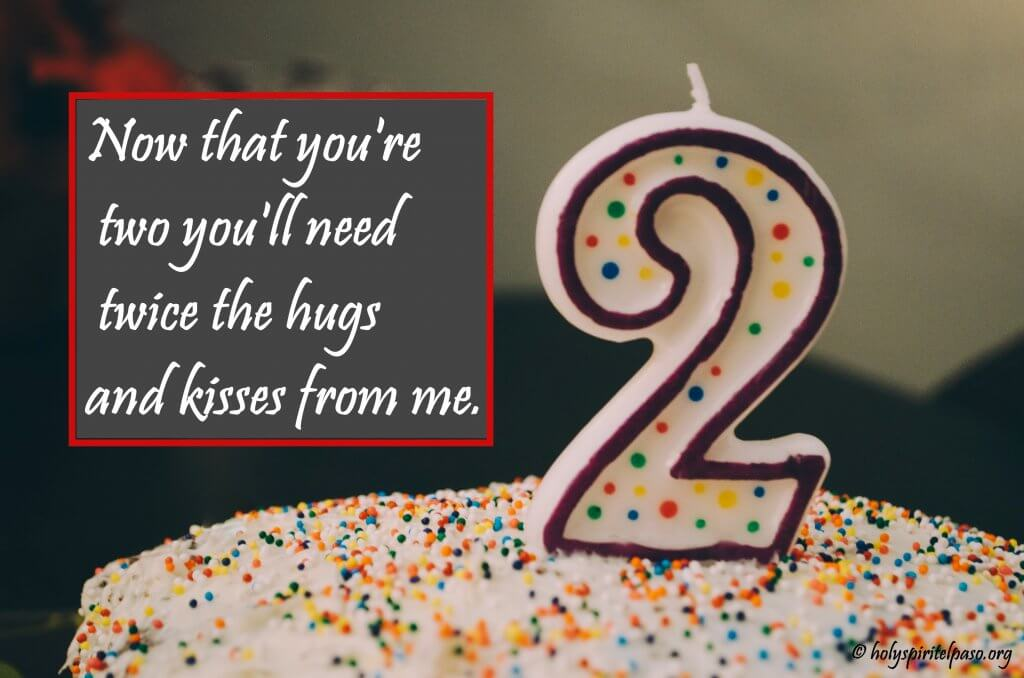 2nd Birthday Wishes Quotes