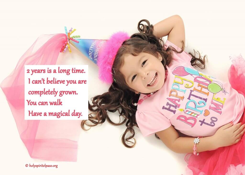 2nd birthday quotes for daughter