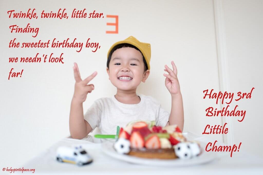 3rd Birthday Quotes