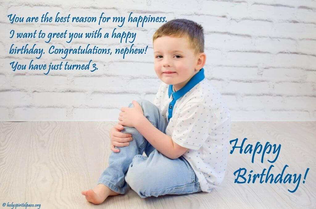 3rd Birthday Quotes For Nephew