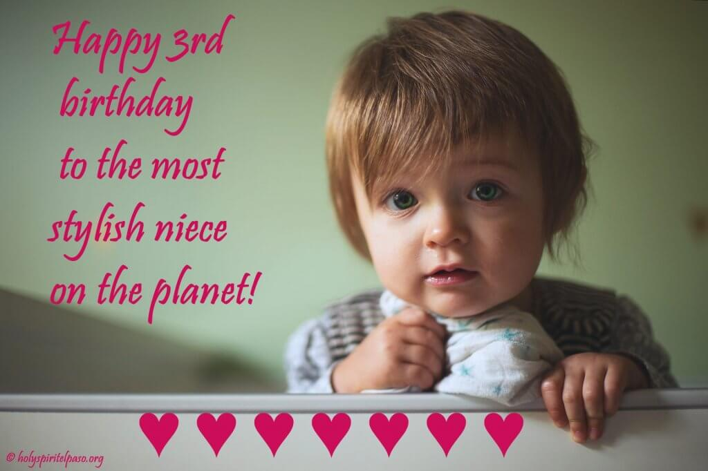 3rd Birthday Quotes For Niece