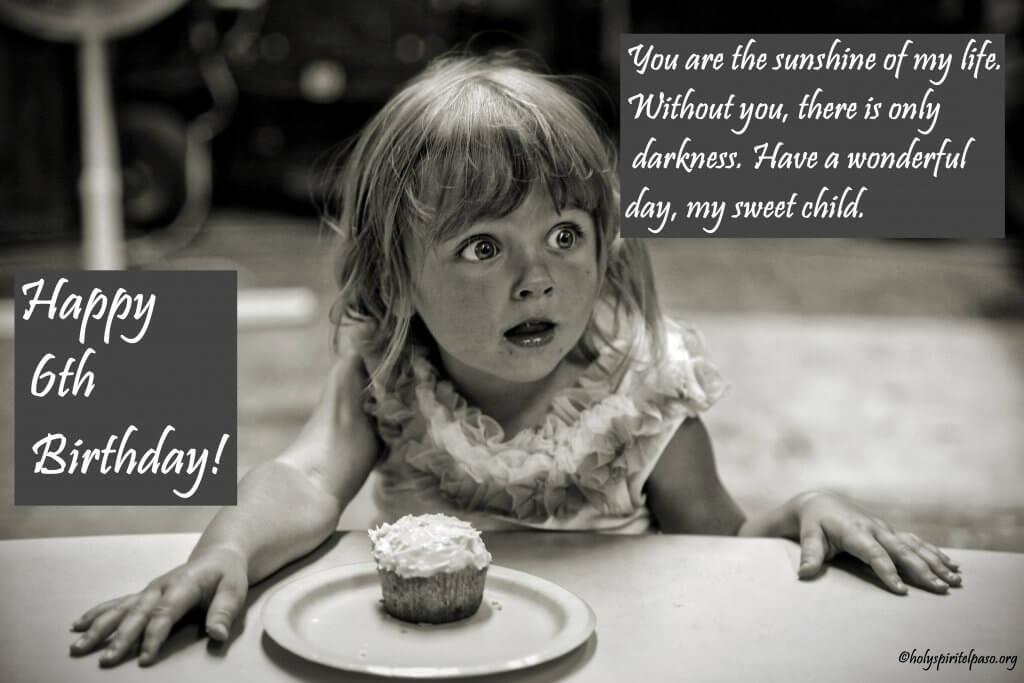 6th Birthday Girl Quotes