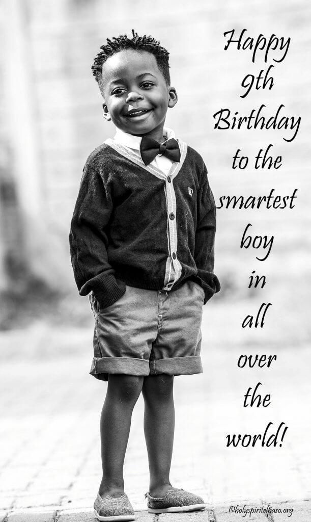 9th Birthday Boy Quotes
