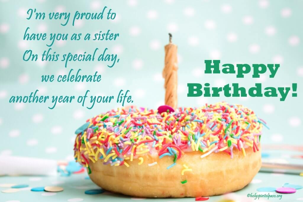 Birthday Love Wishes for Sister