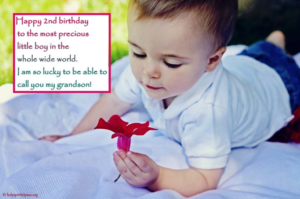 Grandson 2nd Birthday Quotes