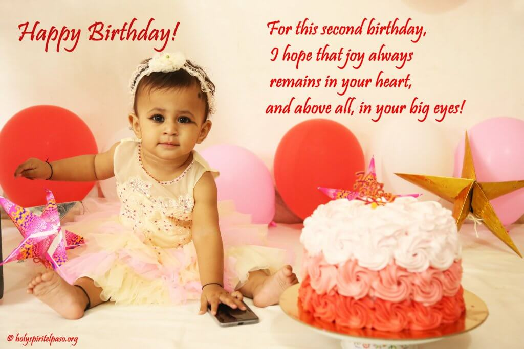 Happy 2nd Birthday To My Little Princess Quotes