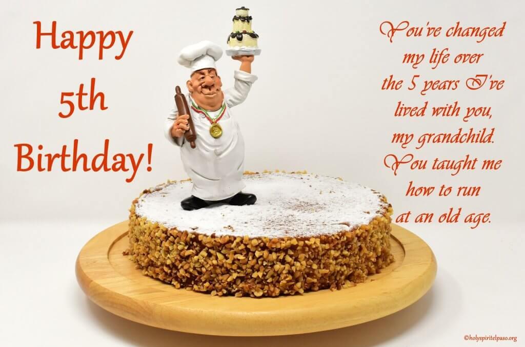 Happy 5th Birthday Grandson Quotes