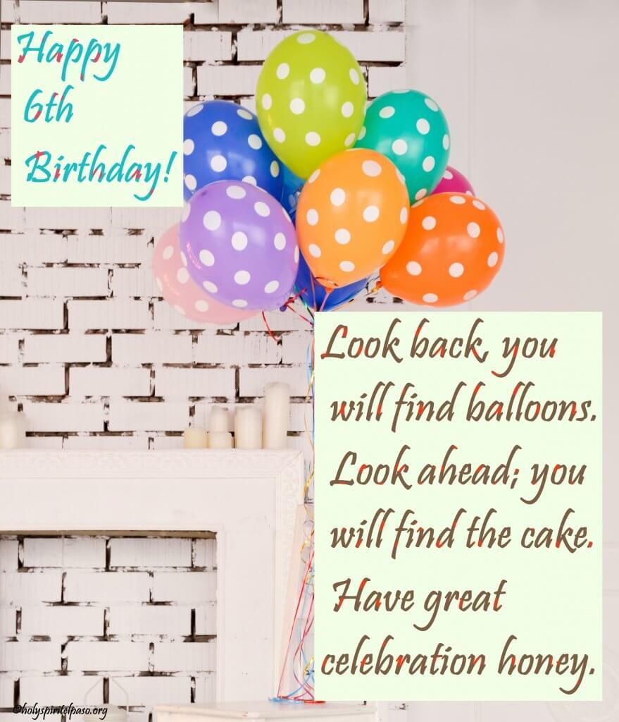 Happy 6th Birthday Niece Quotes