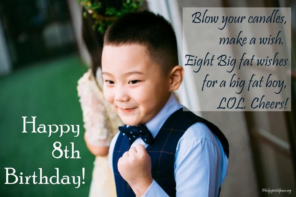 Happy 8th Birthday Nephew Quotes