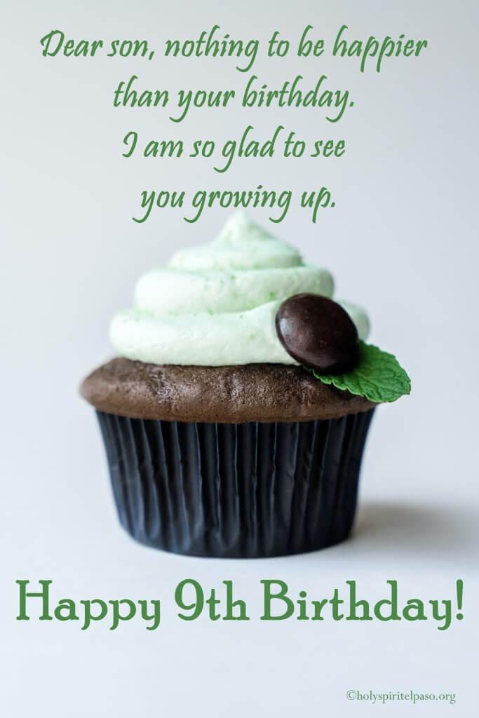 Happy 9th Birthday Son Quotes
