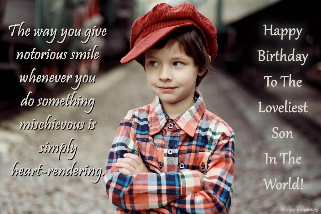 Heartfelt Wishes For Son on Birthday