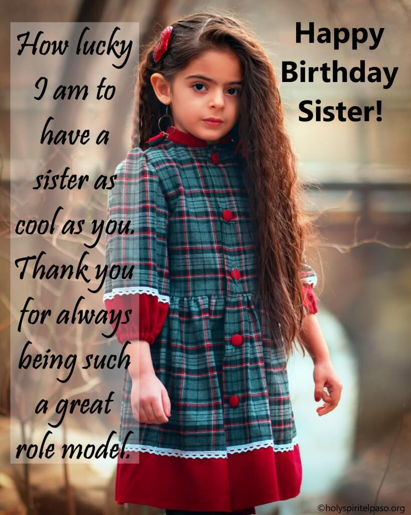 Inspirational Birthday Messages for Sister
