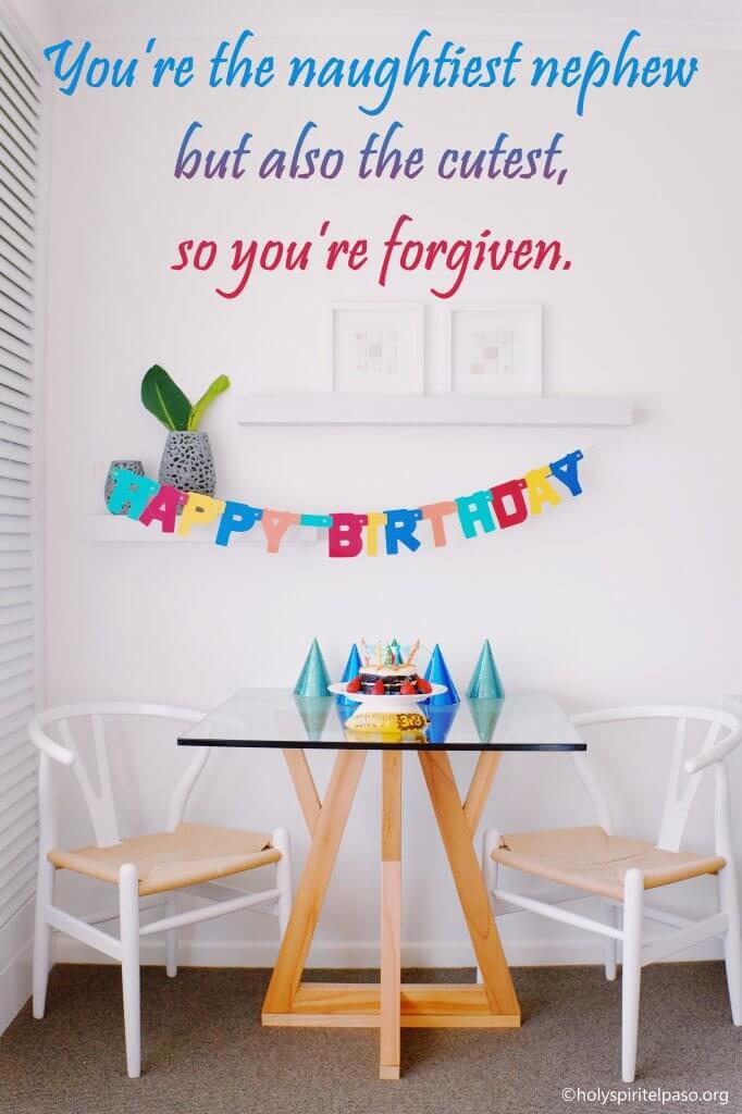 Motivational Birthday Wishes For Nephew