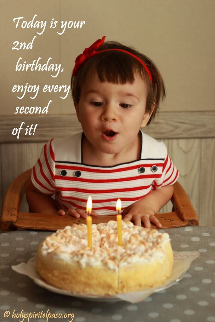 My Baby Girl 2nd Birthday Quotes