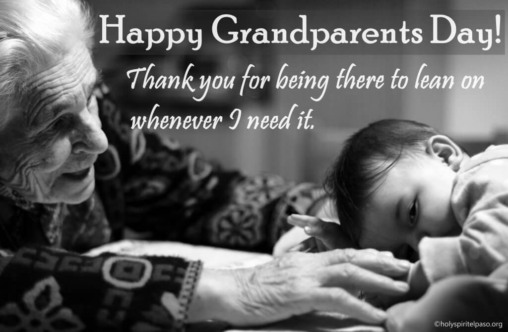 Beautiful wallpaper of Grandparents Day Images with Quotes and msg