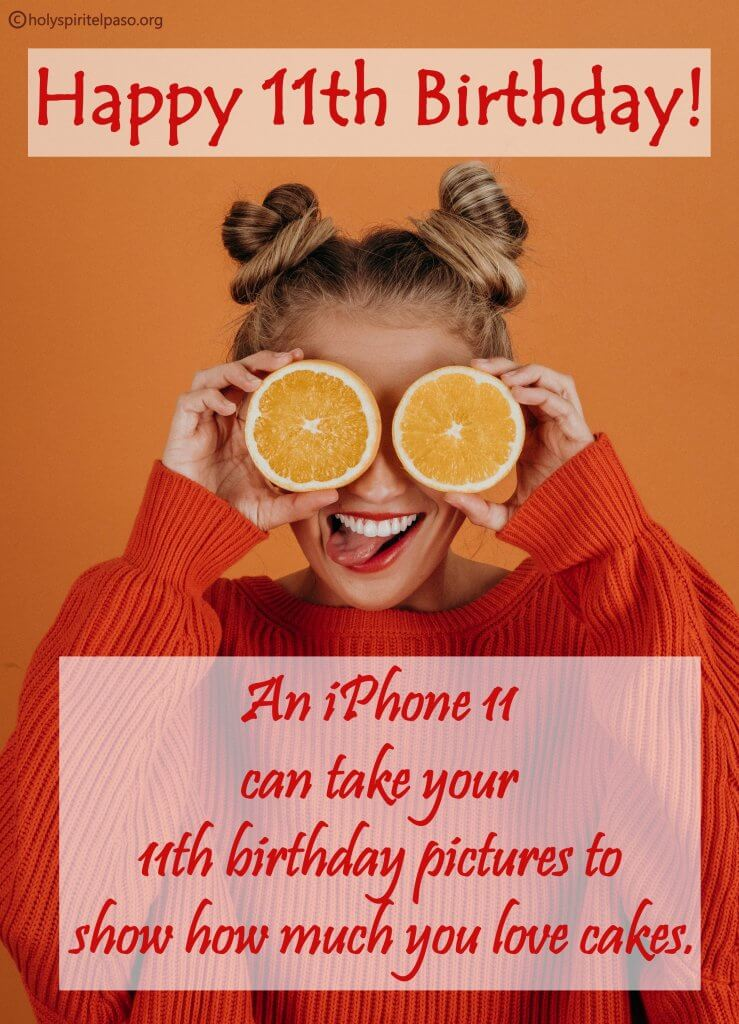 Funny 11th Birthday Quotes