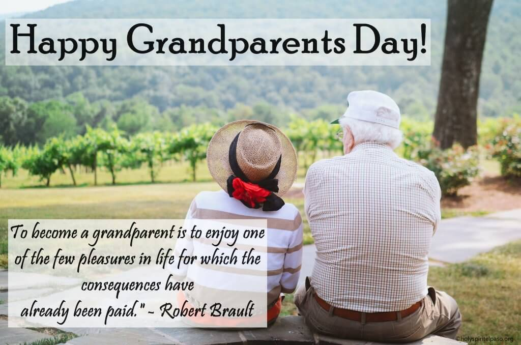 Grandparents Day Picture With Quotes And Beautiful Wallpaper