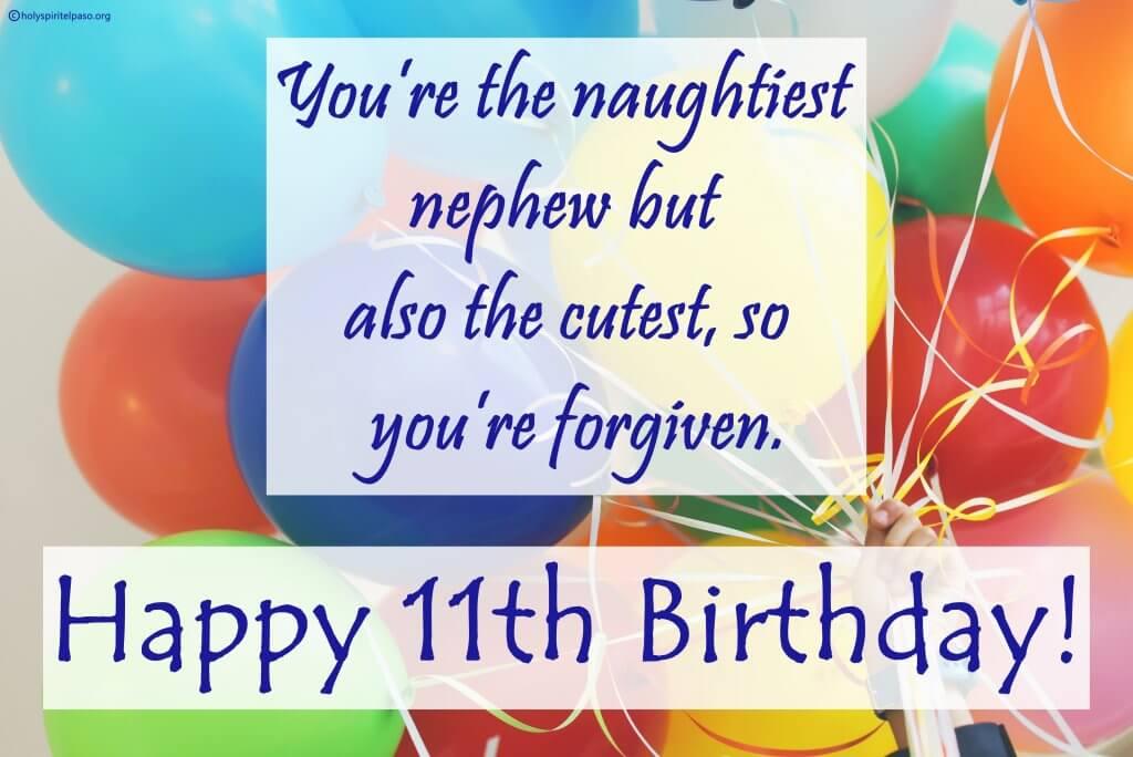 Happy 11th Birthday Nephew Quotes